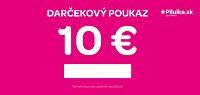 Darčekový poukaz 10 €