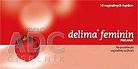 DELIMA FEMININ vaginálne čapíky 1x10 ks