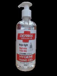 Derma Intensive+ dezinfekčný antibakteriálný gél na ruky 500 ml