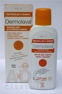 Dermolaval sprchový gél a šampón 1x200 ml