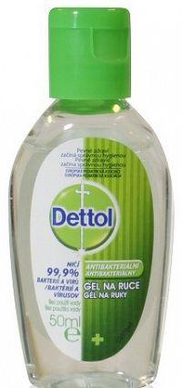 Dettol Antibakteriálny gél na ruky 50ml