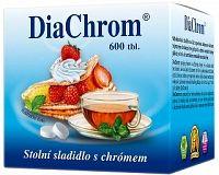 DiaChrom nízkokalorické sladidlo 600 tabliet