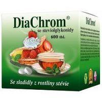 DiaChrom s glykozidmi steviolu 600 tabliet