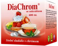 DiaChrom so sukralózou 600 tabliet