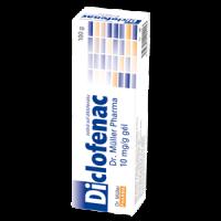Diclofenac Dr. Müller Pharma 10 mg/g gél gel 1x60 g