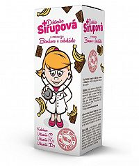 Doktorka sirupová s príchuťou banánov v čokoláde, sirup 100ml