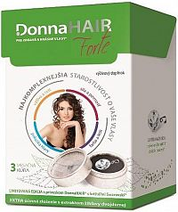 Donna HAIR Forte 3-mesačná kúra 90 kapsúl + prívesok SWAROVSKI