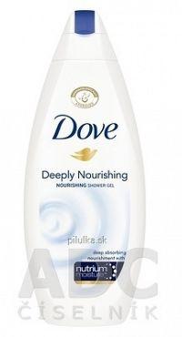 Dove Deeply Nourishing sprchovací gél 1x250 ml