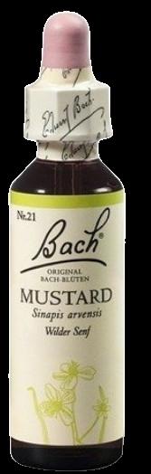 Dr. Bach Mustard - Horčica roľná 20ml