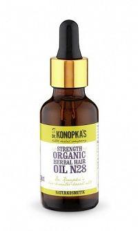 Dr.Konopka´S - Bylinný olej na vlasy pre posilnenie vlasov č. 28 - 30ml