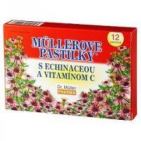 Dr.Müller pastilky s echinaceou a vit. C 12 ks