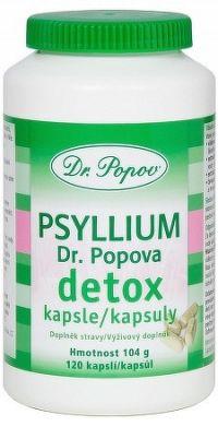 DR. POPOV PSYLLIUM DETOX cps 1x120 ks