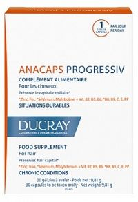 Ducray Anacaps Progressiv 3x30 cps