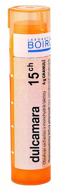 Dulcamara CH15 granule 4g