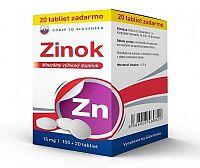 DZSK Zinok 15 mg tbl 100+20 zadarmo
