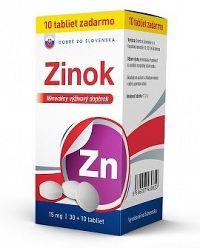 DZSK Zinok 15 mg tbl 30+10 zadarmo