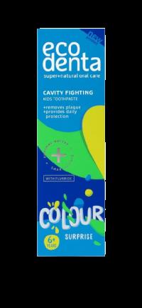 Ecodenta Detská zubná pasta Colour Surprise 75ml