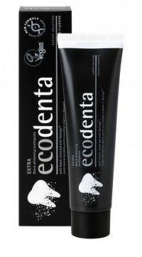 Ecodenta EXTRA Black whitening zubná pasta bieliaca 1x100 ml