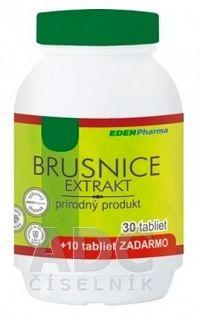 EDENPharma BRUSNICE extrakt tbl 30+10 zadarmo