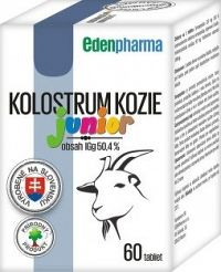 EDENPharma KOLOSTRUM KOZIE Junior tbl 60 ks