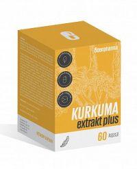 EDENPharma KURKUMA extrakt plus 60 cps
