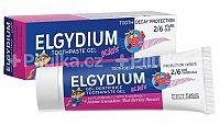 ELGYDIUM KIDS gélová zubná pasta s fluorinolom pre deti s príchuťou lesného ovocia 1x50 ml