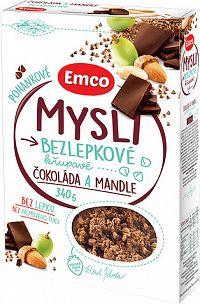 Emco Mysli Pohánkové čokoláda a mandle 340g