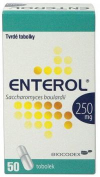 Enterol 250 mg kapsuly dur 50 ks