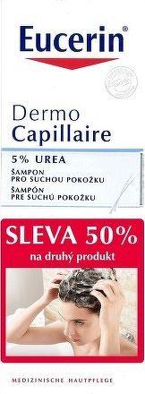 Eucerin DermoCapillaire 5% Urea šampón pre suchú pokožku 2x250 ml 1x1 set
