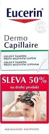Eucerin DermoCapillaire šampón proti mastným lupinám 2x250 ml 1x1 set