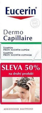 Eucerin DermoCapillaire šampón proti suchým lupinám 2x250 ml 1x1 set