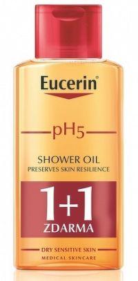 Eucerin pH5 relipidačný sprchový olej pre citlivú pokožku 2x200 ml 1x1 set