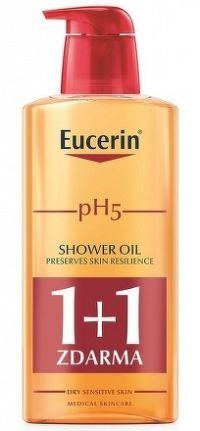 Eucerin pH5 relipidačný sprchový olej pre citlivú pokožku 2x400 ml 1x1 set