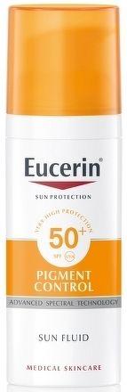 Eucerin SUN PIGMENT CONTROL SPF50+ Emulzia na tvár na opaľovanie s depigmentačným účinkom 1x50 ml