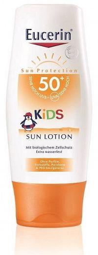 Eucerin SUN SENSITIVE PROTECT SPF50+ detské mlieko na opaľovanie 150 ml