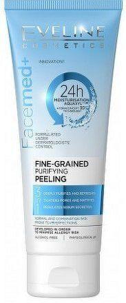 Eveline Facemed – jemnozrnný čistiaci peeling 3v1