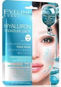 Eveline Hyaluron - Ultra hydratační pleťová textilní maska 20 ml