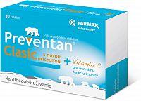 FARMAX Preventan Clasic s novou príchuťou + vit. C 30 tbl