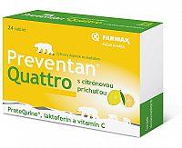 FARMAX Preventan Quattro citrón tbl 24