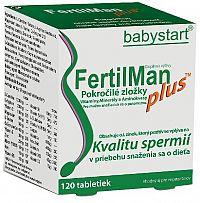 FertilMan Plus vitamíny pre mužov 120 tabliet