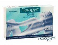 Floragyn vaginálne čapíky 6 ks