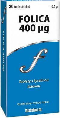 Folica 400 µg 30 tbl