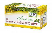 FYTO Bylinná zmes pre diabetikov so sladidlom zo stévie 20x1,5g