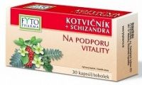 FYTO KOTVIČNÍK + SCHIZANDRA 30 cps