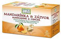 FYTO MANDARÍNKA & ZÁZVOR ovocno-bylinný čaj v nálevových vrecúškach 20x2 g