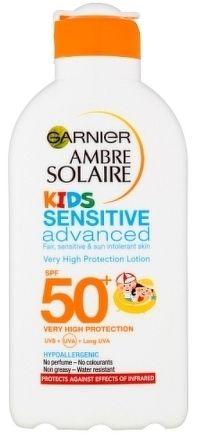 Garnier Ambre Solaire Resisto Kids ochranné mléko pro děti OF 50+ 200ml ml