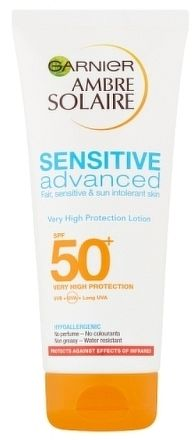 Garnier Ambre Solaire Sensitive Advanced mléko na opalování OF 50+ 200ml ml