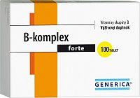 GENERICA B-komplex forte AKCIA tbl 100 + 20