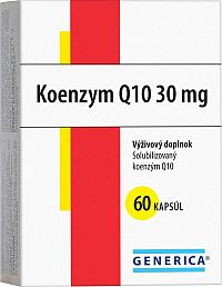 GENERICA KOENZYM Q10 30 mg 60 cps