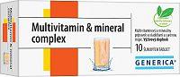 GENERICA Multivitamin & mineral complex šumivé tablety 10ks